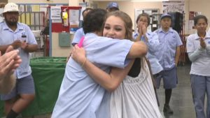 California girl says 'hero' postal worker rescued her from world of se...
