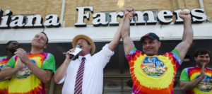 World's ice cream eating championship winner announced at the Indiana ...