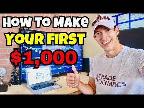 How To Make Your First $1,000 In The Stock Market In 2018
