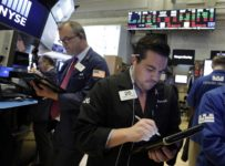 Markets Right Now: US stocks wobble in midday trading