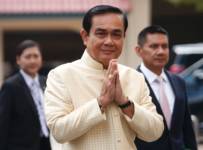 Thai junta leader interested in staying in politics