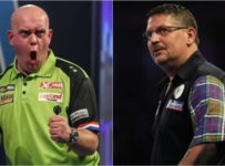 PDC World Darts Championship: Gary Anderson and Michael van Gerwen rea...