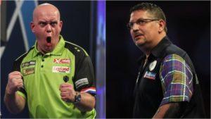 PDC World Darts Championship: Gary Anderson and Michael van Gerwen rea...