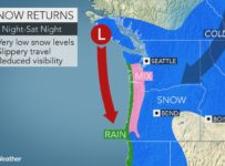 Another winter storm to bring snow, cold across Seattle, northwestern ...