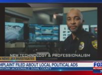 Jacksonville pastor files complaint over political ads featuring unifo...