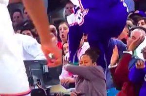 Regina King narrowly avoids catastrophe as NBA player crashes into cro...
