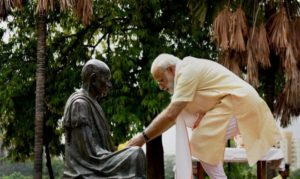 Congress culture is anti-thesis of Gandhian thought: PM Modi says in h...