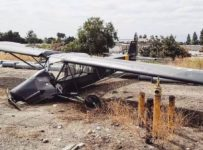 World War II-era German plane, swastika on its tail, crashes in Upland...