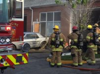 Fire at small business in Chesapeake