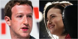 Zuckerberg Sandberg