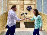 Ax-throwing venue The Virginia Axe Company now open | Entertainment