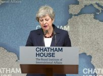 May warns against 'absolutist' politics of 'winners and losers'