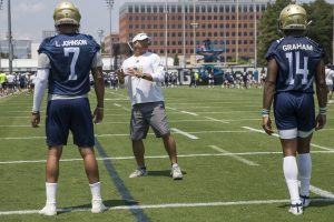 Dave Patenaude's vision for Georgia Tech offense clarifying