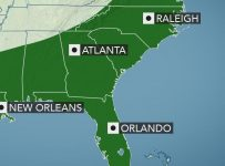Drenching storms to raise flash flood risk in southern US later this w...