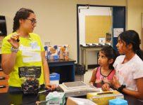 Wesleyan's Girls in Science campers discover wonders of field attracti...