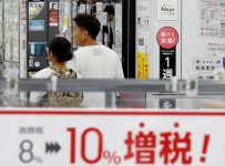 Japan Ups Sales Tax to 10% Amid Signs Economy Is Weakening | Business ...
