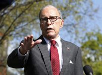 Kudlow says there are encouraging signs from reopening states, sees ve...
