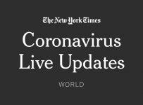 Live Coronavirus World Updates - The New York Times