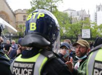 Stars of the entertainment world react to far-right riots in London