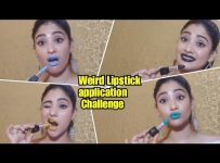 Weird Lipstick challenge || collab lavishka jain || shystyles