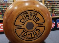 World's Largest Working Wooden Yo-Yo – Chico, California