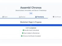 Assembl Chronos, a Blockchain-Based Timestamping Service for Scientist...