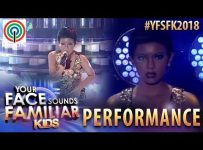 Your Face Sounds Familiar Kids 2018: Krystal Brimner as Toni Braxton | You Mean The World To Me