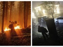 Underwater and on fire: US climate change magnifies extremes | Nationa...