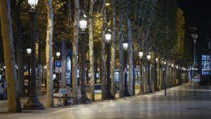 French virus curfew produces eerie quiet on streets of Paris   Enterta...