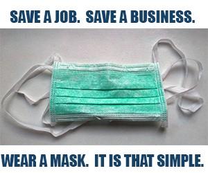 """GoLocal Launches """"Save a Job. Save a Business. Wear a Mask. It Is That..."""