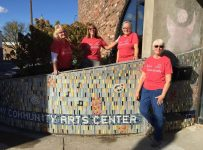 Mosaic art installation makes progress at the Arts Center | Arts and E...