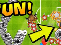 FUN/WEIRD Strategy! Boomerang + Farm + Spike Factory | Bloons TD Battles