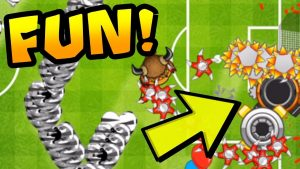 FUN/WEIRD Strategy! Boomerang + Farm + Spike Factory | Bloons TD Battles