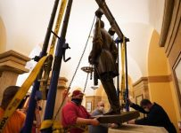 Virginia removes Lee statue from U.S. Capitol overnight - Richmond.com
