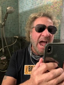 Sammy Hagar in the shower | Arts & Entertainment | macombdaily.com...